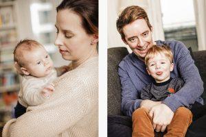 Wir kommen zu Ihnen nach Hause: Baby und Kinderfotografie